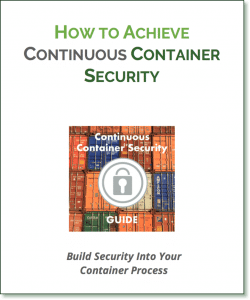Download Continuous Container Security Guide