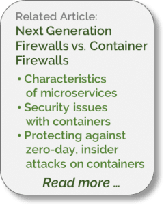 NGFW vs Container Firewalls